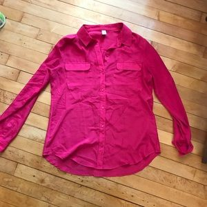 Old Navy Pink Blouse M